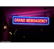 News Photographic Print