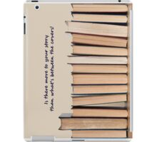 Books on a shelf of time.... short iPad Case/Skin