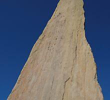 Ogham stone by JurassicJohn