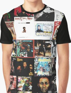 90s HIP HOP HISTORY Graphic T-Shirt