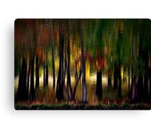 Nature With a Paintbrush Speaks Canvas Print
