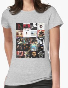 90s HIP HOP HISTORY Womens Fitted T-Shirt