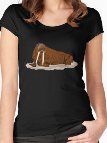 Pacific Walrus Women's Fitted Scoop T-Shirt