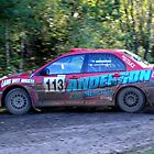 Mitsubishi Evo IX No 113 by Willie Jackson