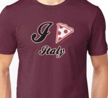 I Love Pizza Italy Unisex T-Shirt