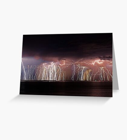 Fremantle Thunderstorm  Greeting Card
