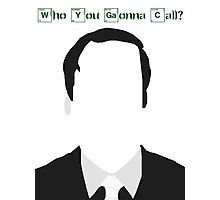 Better Call Saul - Breaking Bad - Who you gonna call? Photographic Print