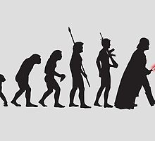 THE STAR WARS EVOLUTION by leopolding