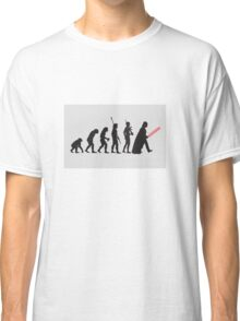 THE STAR WARS EVOLUTION Classic T-Shirt