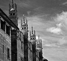 Spires Of The Lightner Museum by Annette Pora