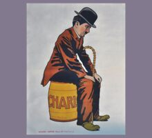 Charlie Chaplin 'The Little Tramp' Vintage Movie Art Poster by TrueLoveTees