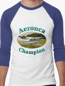 Aeronca Champ on floats Men's Baseball ¾ T-Shirt