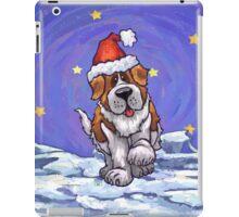 St. Bernard Christmas iPad Case/Skin