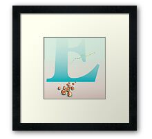 Life Stages of E Framed Print