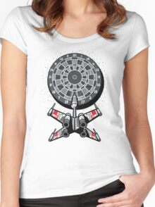 Dart Star Women's Fitted Scoop T-Shirt