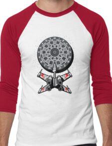 Dart Star Men's Baseball ¾ T-Shirt