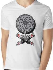 Dart Star Mens V-Neck T-Shirt