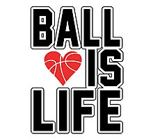 Basketball is Life Photographic Print