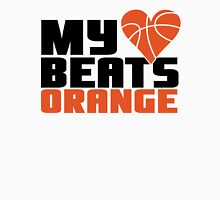 Basketball - My heart beats orange Unisex T-Shirt