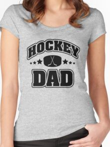 Hockey Dad Women's Fitted Scoop T-Shirt