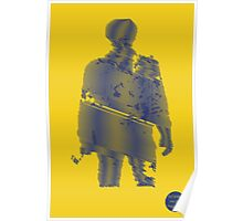 Veteran Print Project Silhouette US Navy Poster