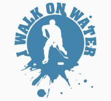 Hockey: I walk on water Kids Clothes