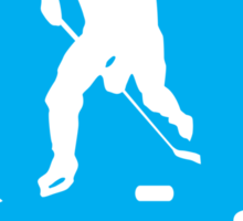 Hockey: I walk on water Sticker