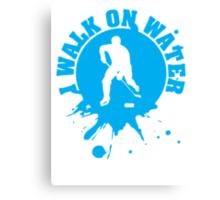 Hockey: I walk on water Canvas Print