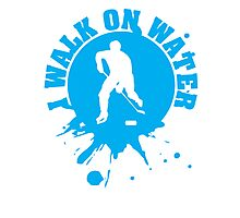 Hockey: I walk on water Photographic Print