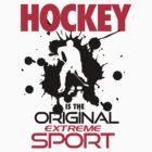 Hockey is the original extreme sport by nektarinchen