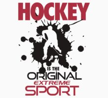 Hockey is the original extreme sport by nektarinchen