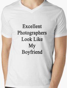 Excellent Photographers Look Like My Boyfriend  Mens V-Neck T-Shirt