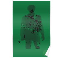 Veteran Print Project Silhouette US Army Poster