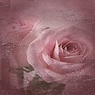 Vintage Abstract Rose Art by edesigns14