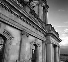 Take a Pew BW by Andy Freer