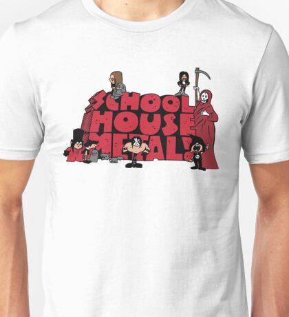 School House Metal T-Shirt