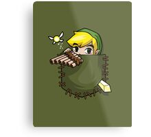 Pocket Link Metal Print