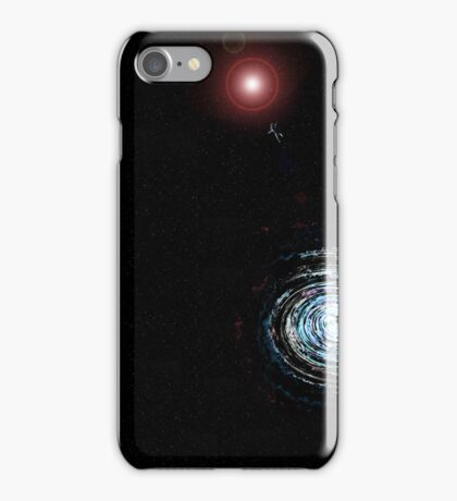 Lost in outer space iPhone Case/Skin