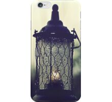 Lantern in the Rain iPhone Case/Skin