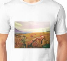 Frank Zappa Meets Salvador Dali. Surreal Painting Unisex T-Shirt