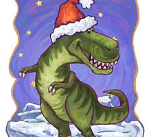 Tyrannosaurus Christmas by Traci VanWagoner