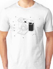 Contessa Retro Camera Unisex T-Shirt