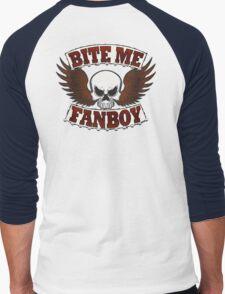 Bite Me Fanboy - Lobo Men's Baseball ¾ T-Shirt
