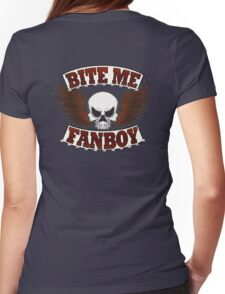 Bite Me Fanboy - Lobo Womens Fitted T-Shirt