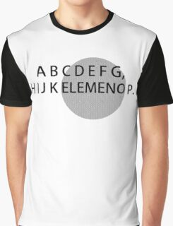ABC's Graphic T-Shirt