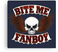 Bite Me Fanboy - Lobo Canvas Print