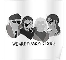 MGSV - We Are Diamond Dogs Poster