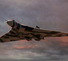 Vulcan Bomber by © Steve H Clark