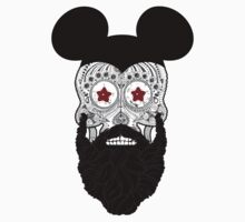 Mickey Skull Beard by mijumi