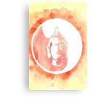 Buddha Watercolor Metal Print